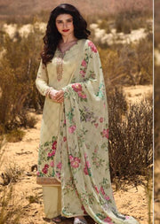 11856 - Unstitched - Silkina Inspired Royal Crepe Vol 28 Collection by Vinay 2020 - Memsaab Online
