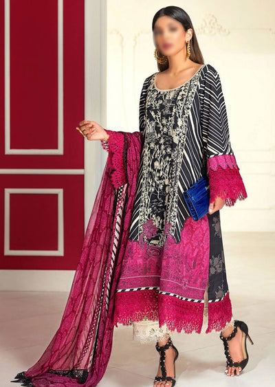 M203-011A - Unstitched - Sana Safinaz Muzlin Winter Collection 2020 - Memsaab Online