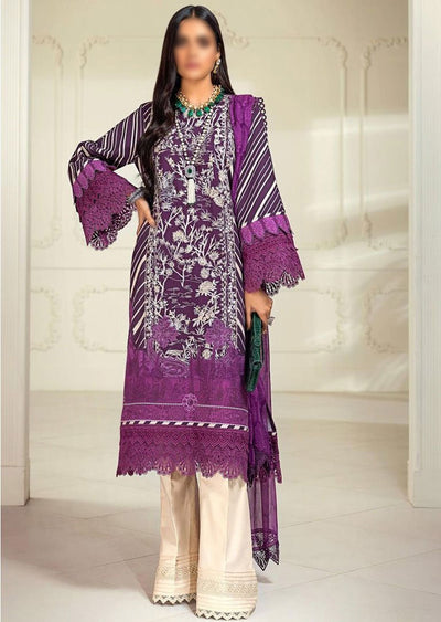 M203-011B - Unstitched - Sana Safinaz Muzlin Winter Collection 2020 - Memsaab Online