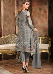R-1211 Stitched Readymade Ramsha Spellbind Vol-22 - Pakistani Designer Chiffon with Stone Work Suit - Memsaab Online