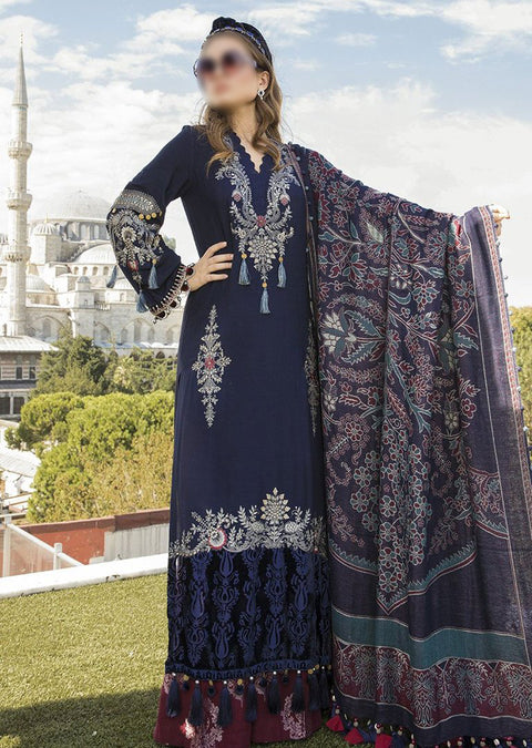 MLB11 - Unstitched - Maria B Linen Collection 2020 - Memsaab Online