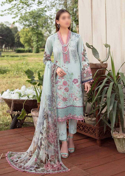 RM-11R - Readymade - Ramsha Chevron Lawn Collection Vol 6 - Memsaab Online
