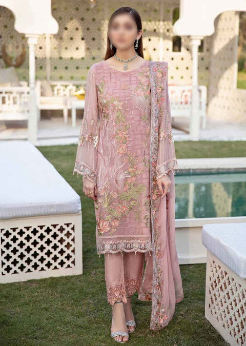 F-2011R - Readymade - Ramsha Luxury Chiffon Collection Vol 20 - Memsaab Online