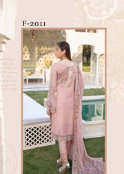 F-2011 - Unstitched - Ramsha Luxury Chiffon Collection Vol 20 - Memsaab Online
