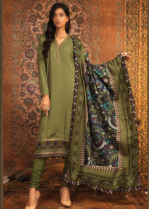 MPT-912-A - Unstitched - Maria B M.Prints Winter Collection 2020 - Memsaab Online