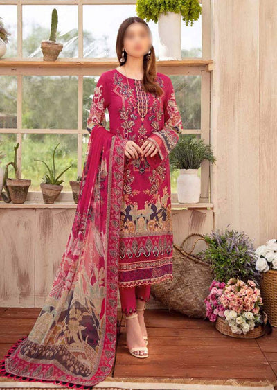 RM-12R - Readymade - Ramsha Chevron Lawn Collection Vol 6 - Memsaab Online
