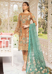 F-2012R - Readymade - Ramsha Luxury Chiffon Collection Vol 20 - Memsaab Online
