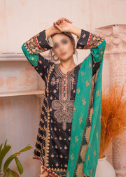 AMT20007 - Readymade Embroidered Lawn Suit - Memsaab Online