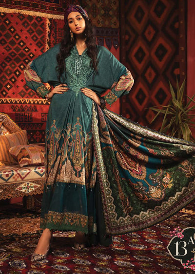 MPT-913-A - Unstitched - Maria B M.Prints Winter Collection 2020 - Memsaab Online