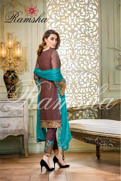 F-1407 Ramsha Vol 14 Perfection Glaze - Memsaab Online