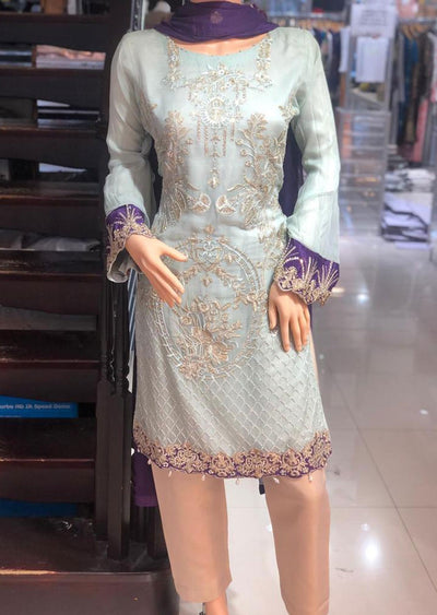ZN141 Readymade Zoon Mint Suit - Memsaab Online