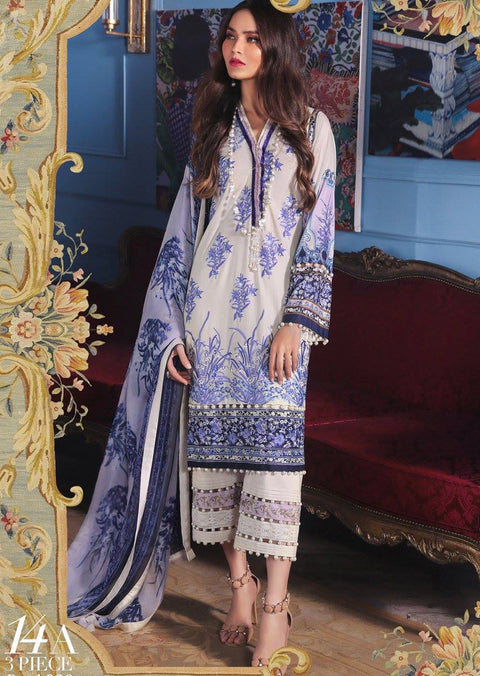 798d652255 14A Sana Safinaz Muzlin Vol 2 2019 Pakistani Designer Lawn Embroidered  Collection UK & Worldwide DELIVERY