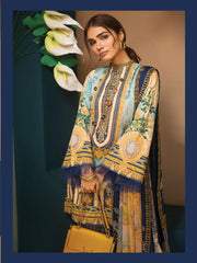 VL19-14 GRACE - VIVA - Anaya by Kiran Chaudhry - READYMADE Pakistani Embroidered Lawn Collection - Lowest Price UK - Memsaab Online