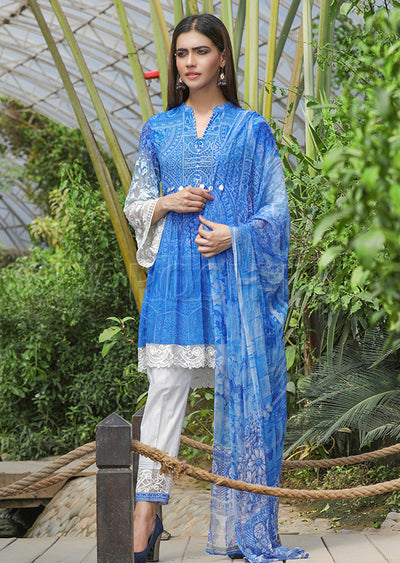 15026-IG-LWN ShaPosh - Lawn Dress - Pakistani Casual-wear Design - Memsaab Online