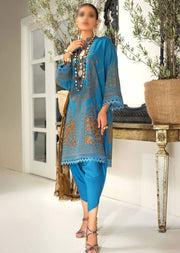 M203-015A - Unstitched - Sana Safinaz Muzlin Winter Collection 2020 - Memsaab Online