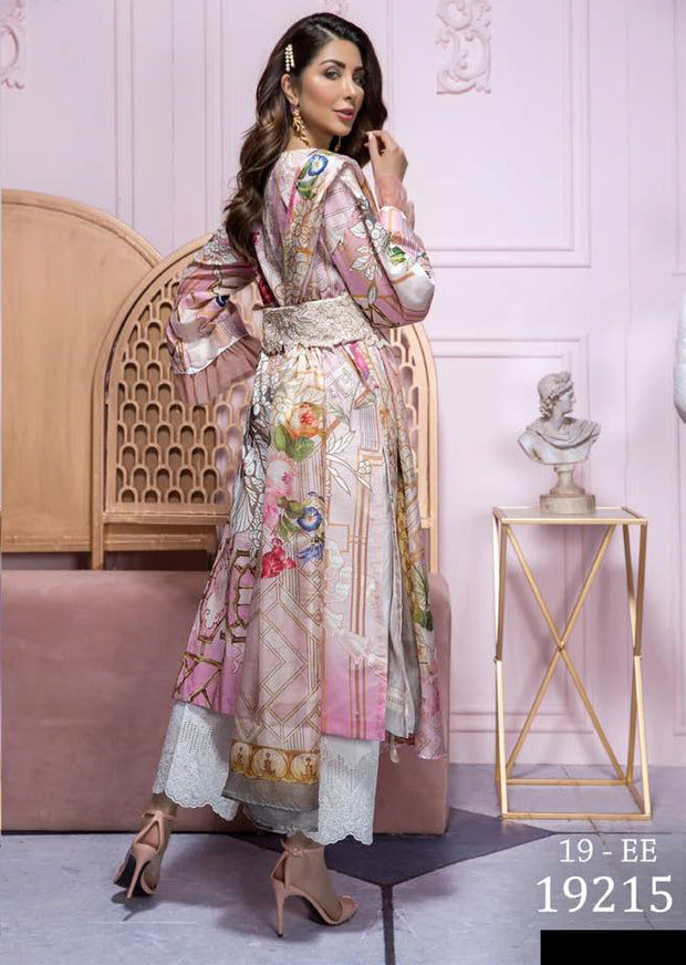 19-EE 19215 Firdous Concept Stores - Eid Exclusive - Embroidered Pakistani Lawn Suit - Memsaab Online