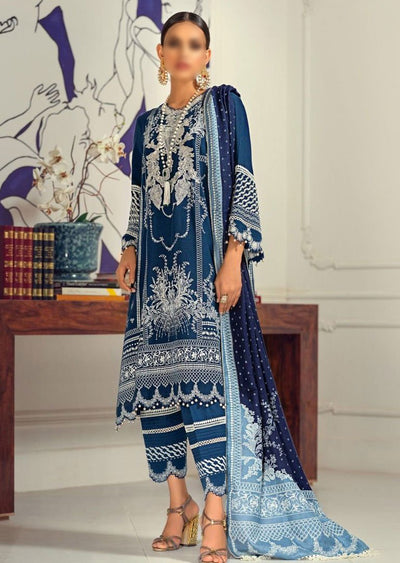 M203-016A - Unstitched - Sana Safinaz Muzlin Winter Collection 2020 - Memsaab Online