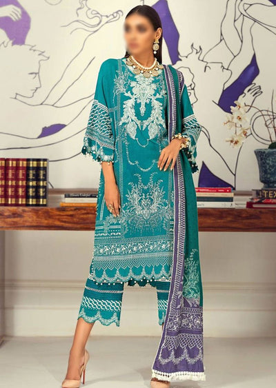 M203-016B - Unstitched - Sana Safinaz Muzlin Winter Collection 2020 - Memsaab Online