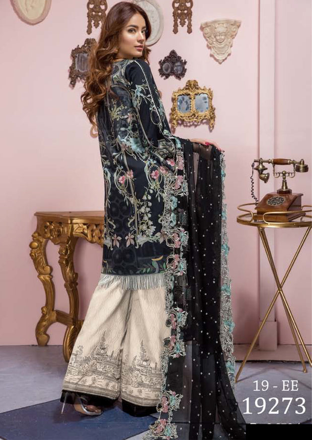 19-EE 19273 Firdous Concept Stores - Eid Exclusive - Embroidered Pakistani Lawn Suit - Memsaab Online