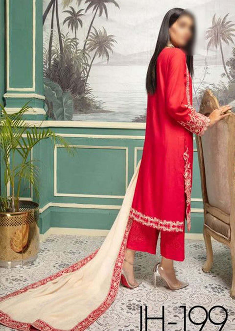 JH-199 Unstitched Iris Winter Coll' by Johra - Memsaab Online
