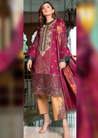 MAL01 - Readymade - Haniya Designer Collection by Munira 2020 - Memsaab Online