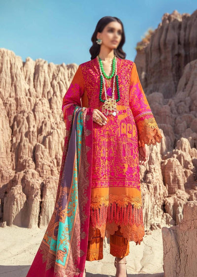 SNS01-A - Unstitched - Sana Safinaz Fall/Winter Collection 2020 - Memsaab Online