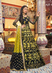 AJF01 - Unstitched - Farozaan Collection by Asim Jofa 2020 - Memsaab Online