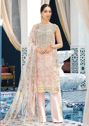 AD01 - INES - Unstitched - Adila Gulaal Collection 2020 - Memsaab Online