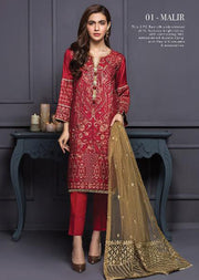 Malir - Xenia Formal Viola Collection '2020 - READYMADE Design - Memsaab Online