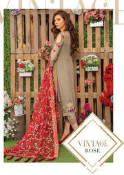 01 Vintage - Sofia Khas - Readymade Fancy Suit Eid Collection 2019 - Memsaab Online
