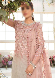 MBEID D1- Unstitched - Maria Mbroidered Eid Collection 21 - Memsaab Online