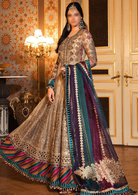BD-2002 - Unstitched - Maria B Wedding Edition Collection 2020 - Memsaab Online