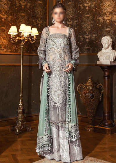 BD-2005 - Unstitched - Maria B Wedding Edition Collection 2020 - Memsaab Online