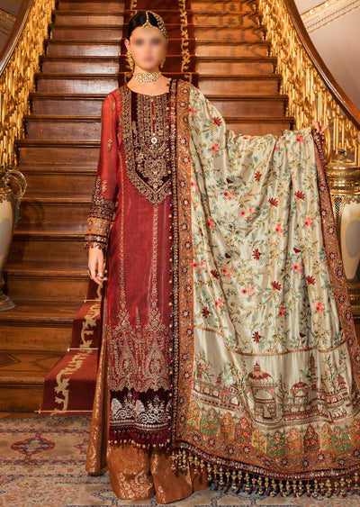 BD-2006 - Unstitched - Maria B Wedding Edition Collection 2020 - Memsaab Online