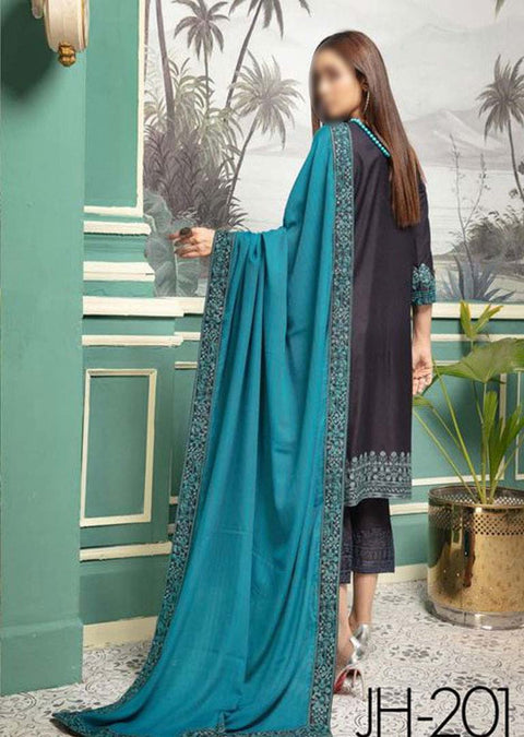 JH-201 Unstitched Iris Winter Coll' by Johra - Memsaab Online