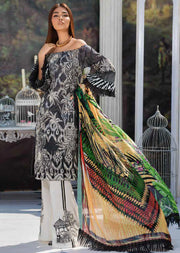 2219-CHIC-SAFARI MOTIFZ EMBROIDERED LAWN 2019 - Pakistani Luxury lawn chicken salwar kameez designer - Memsaab Online
