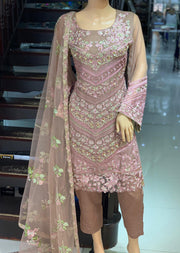 AD293 Readymade Pink Suit by Sofia Shaan - Memsaab Online