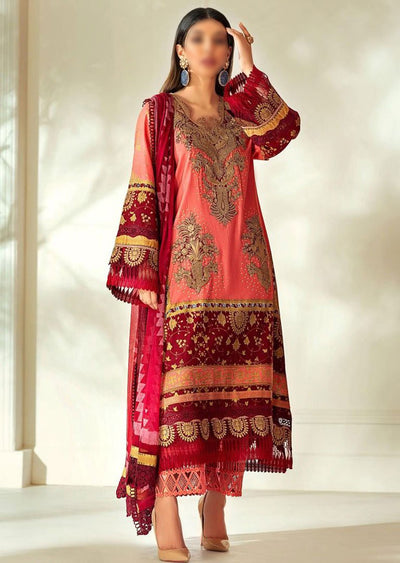 M203-002A - Unstitched - Sana Safinaz Muzlin Winter Collection 2020 - Memsaab Online