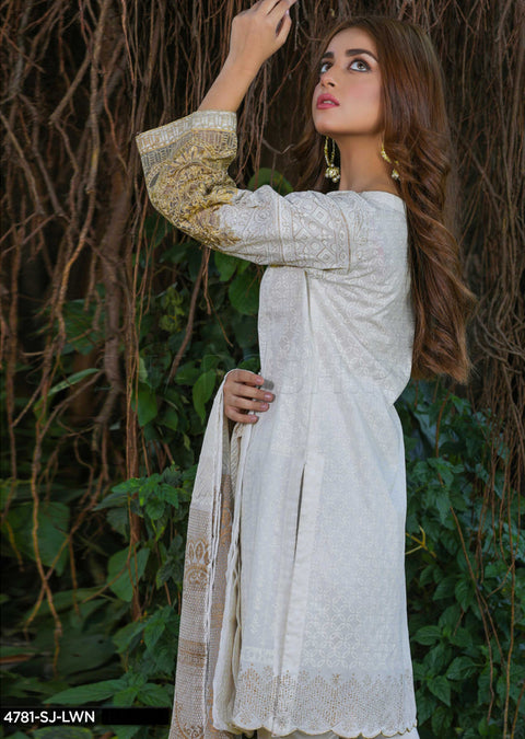4781 Sha Posh Ready to Wear Lawn Suit - Pakistani Designer Casual - Memsaab Online