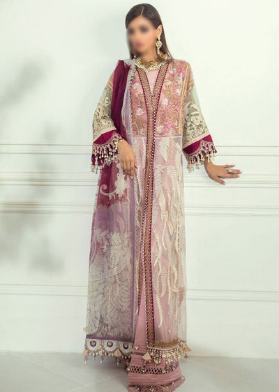 E201-002A - Unstitched - Sana Safinaz Luxury Festive Collection 2020 - Memsaab Online