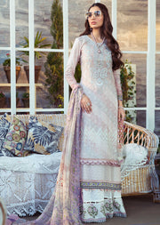 02-A Unstitched Maria B Inspired Lawn Suit - Memsaab Online