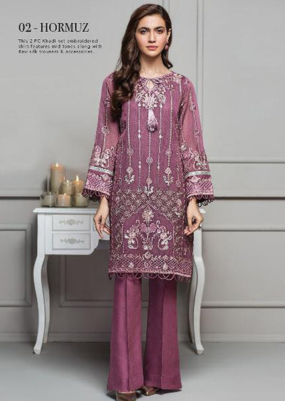 02 Hormuz - Xenia Formal Viola Collection '2020 - READYMADE Design - Memsaab Online