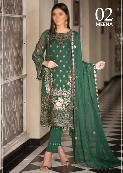 02 - Meena - Simran Readymade Collection Vol 4 - Memsaab Online