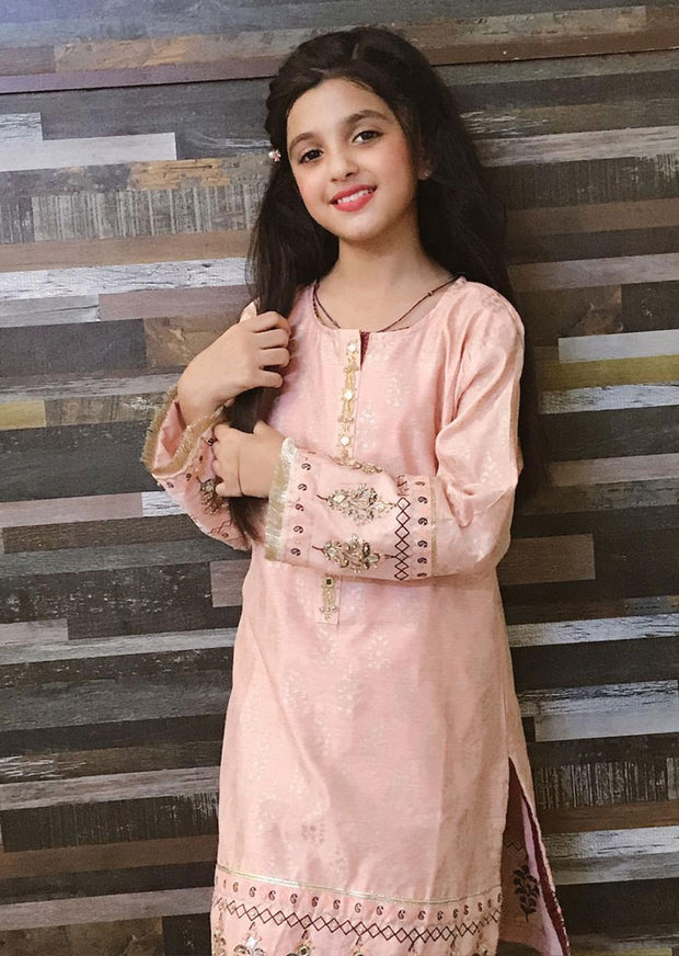 MRS01K Readymade Kids Pink Summer Suit - Memsaab Online