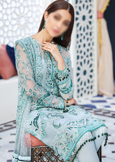 AD02 - IMANE - Unstitched - Adila Gulaal Collection 2020 - Memsaab Online