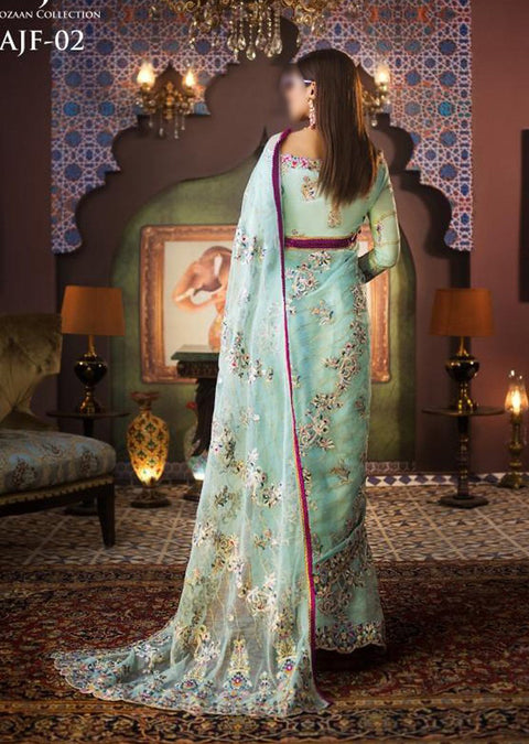 AJF02 - Unstitched - Farozaan Collection by Asim Jofa 2020 - Memsaab Online