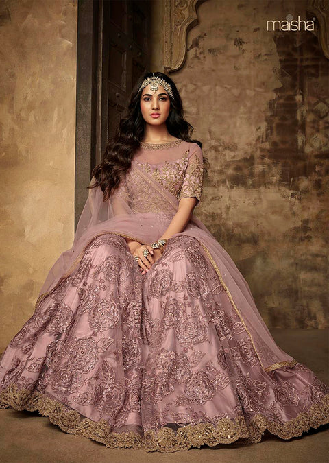 7202 Maisha Aafreen Vol 2 - Unstitched - Indian Partywear Dress Collection - Memsaab Online