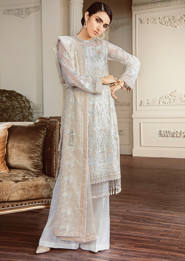 02 Perles Chantelle Embroidered Chiffon - Memsaab Online