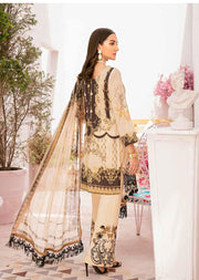 C-302 Unstitched Chevron Luxury Lawn Vol 3 - Memsaab Online
