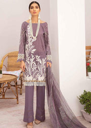 C-304 Unstitched Chevron Luxury Lawn Vol 3 - Memsaab Online